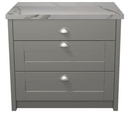 Base cabinet pan drawers 1 2 panelled deep hand for 10 deep floor cabinet